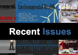 Recent Issues of JEH